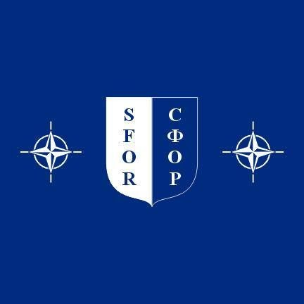 The Stabilization Force (SFOR) was a NATO-led multinational peacekeeping force deployed to Bosnia and Herzegovina after the Bosnian war.